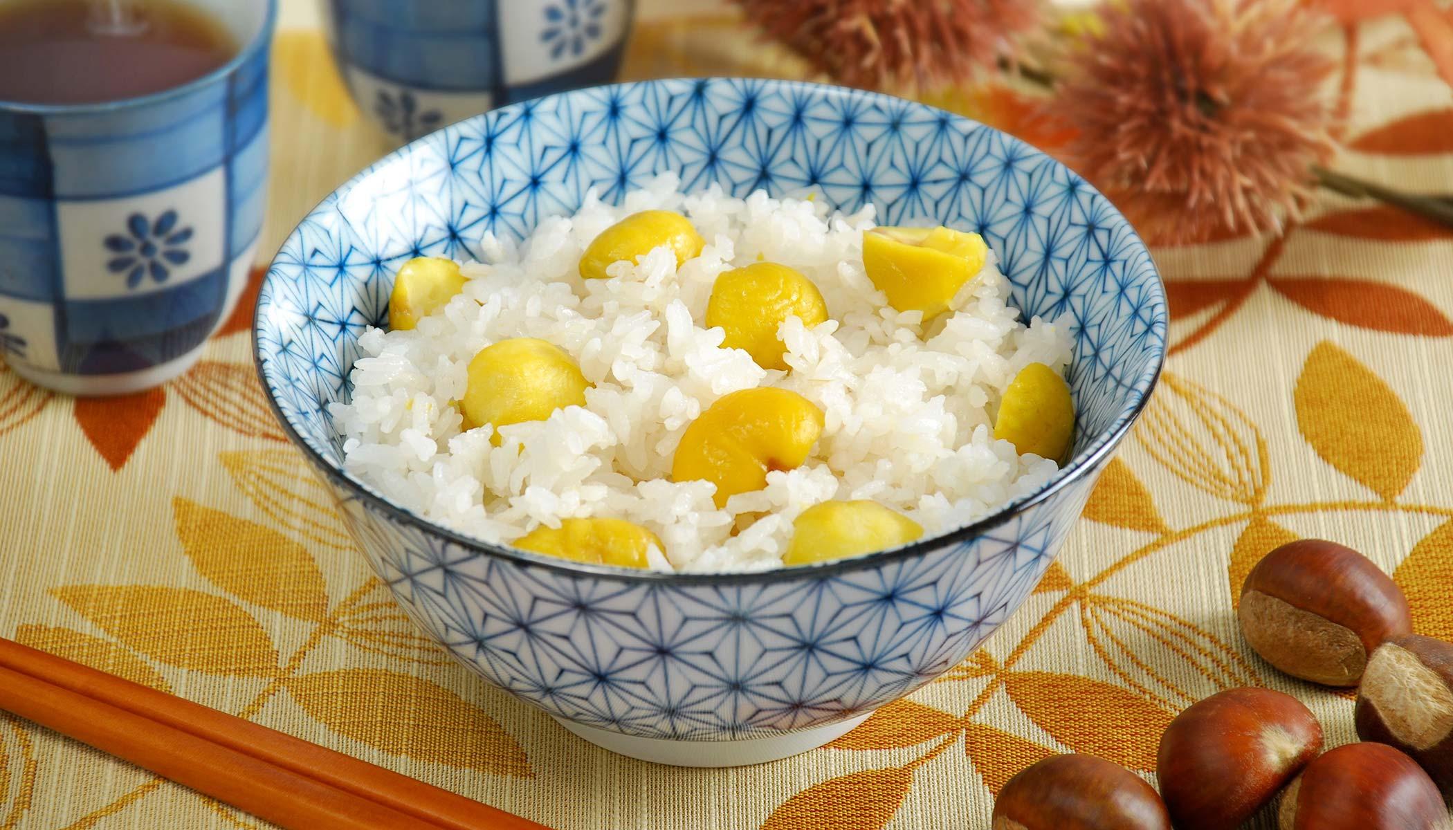 <i>Kurigohan</i> (Japanese Chestnut Rice)