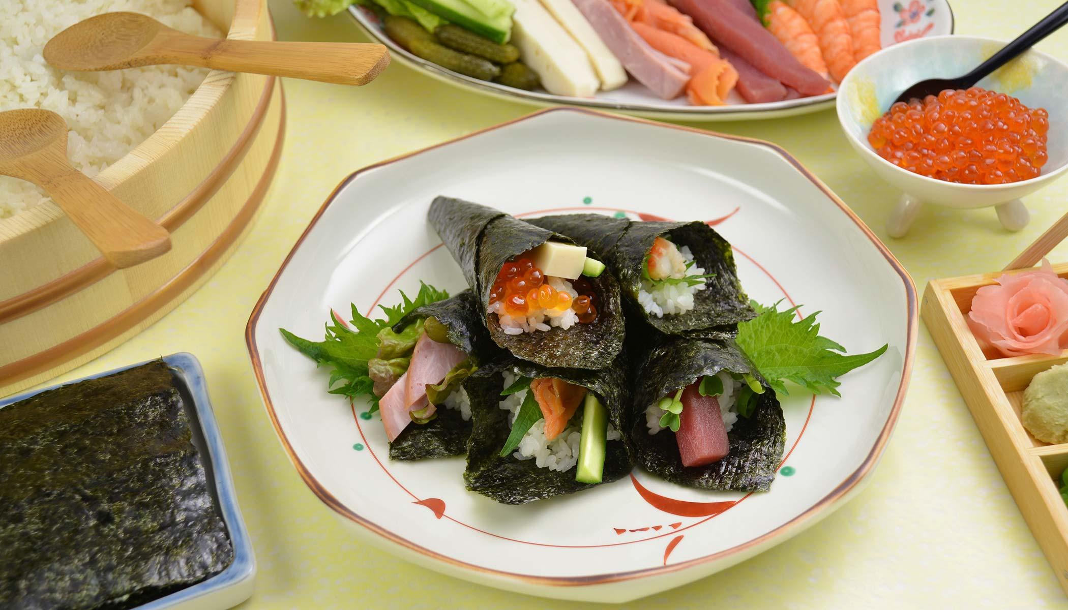 <i>Temaki Sushi</i>