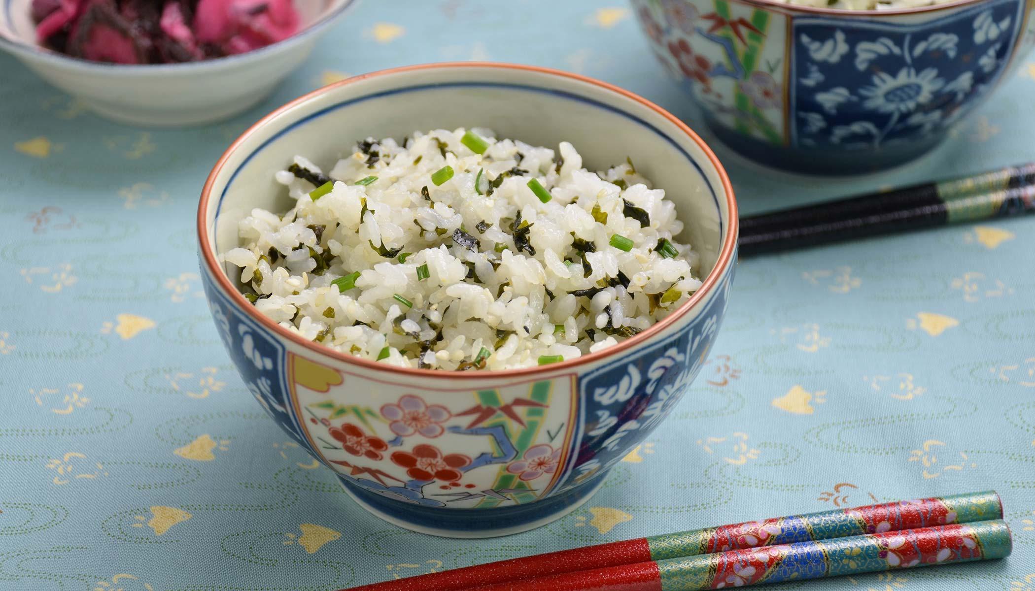 <i>Wakame-Gohan</i> (Seaweed Mixed Rice)