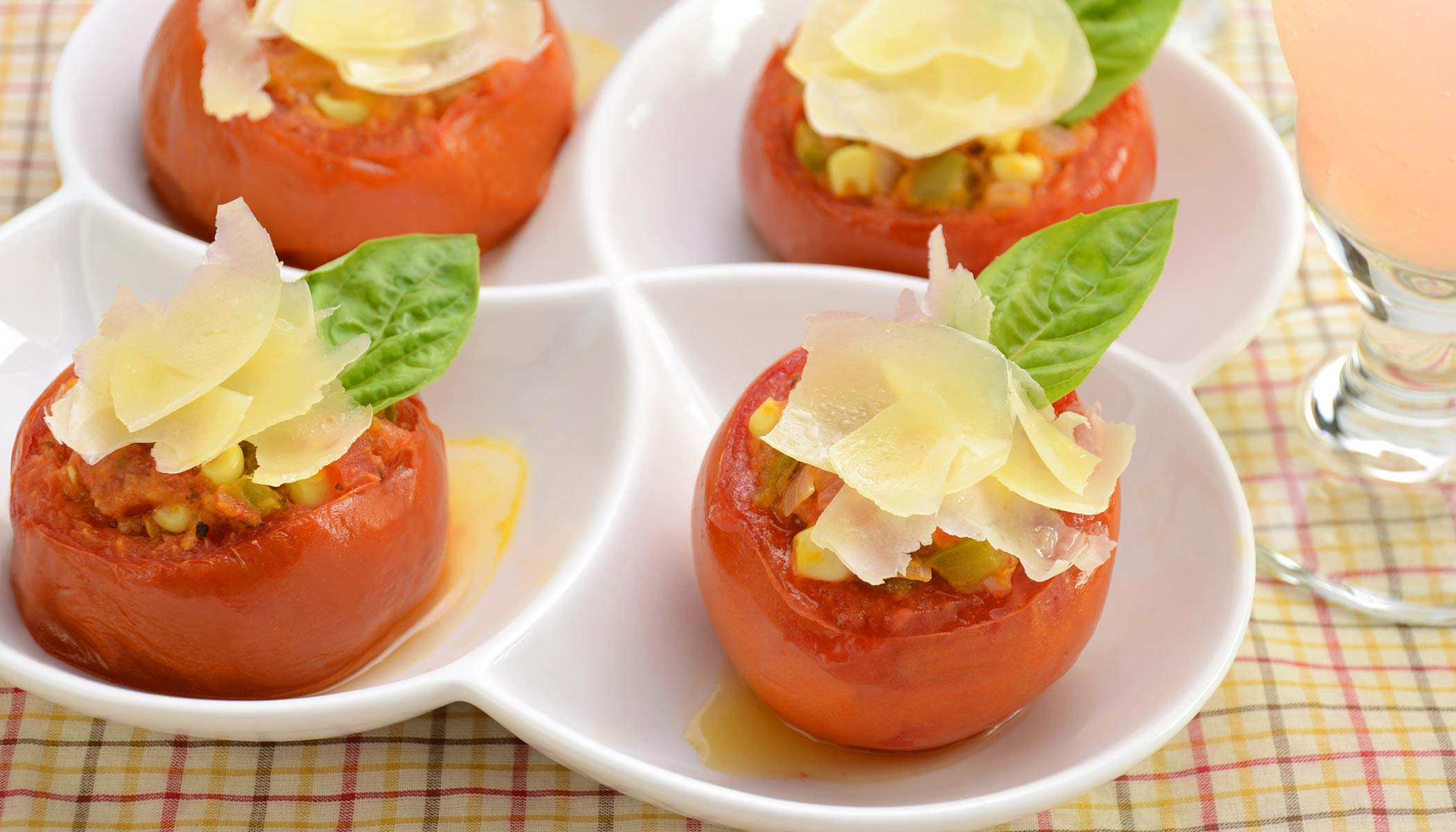 Vegetable Stuffed Tomatoes