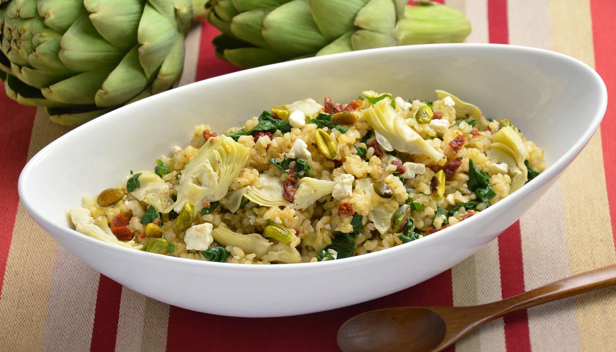 Eastern Mediterranean Vegetables and Brown Rice
