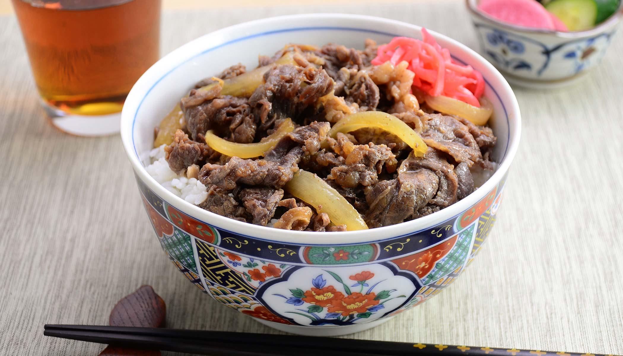 <i>Gyu-Don</i> (Beef Bowl)