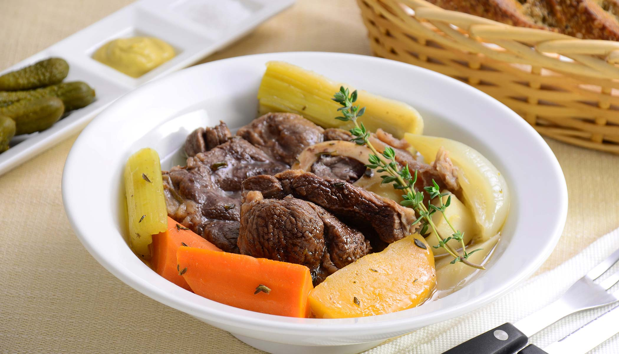 <i>Pot-au-Feu</i> (Beef Stew)