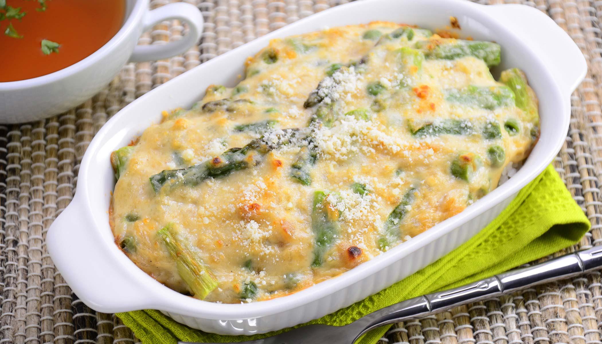 Green Peas and Asparagus <i>Doria</i>