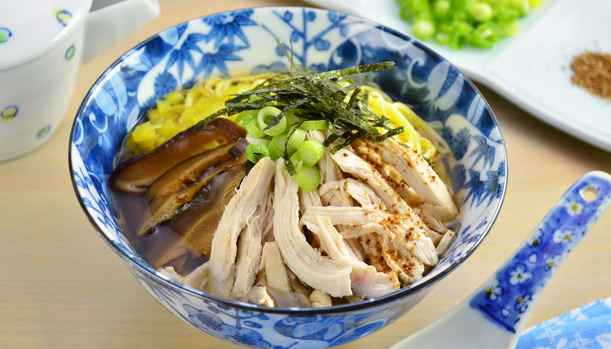 <i>Keihan</i> (Japanese Chicken Soup with Rice)
