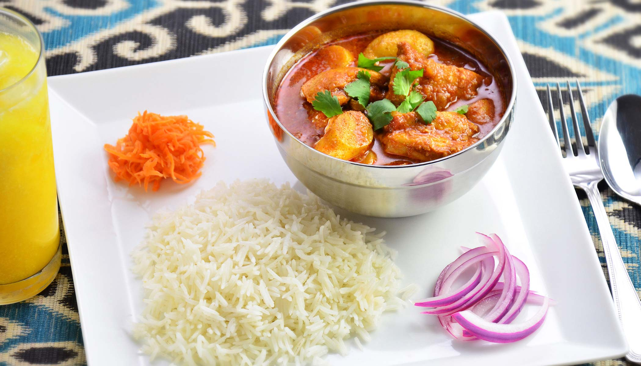 Chicken <i>Vindaloo</i> (Indian Chicken Curry)