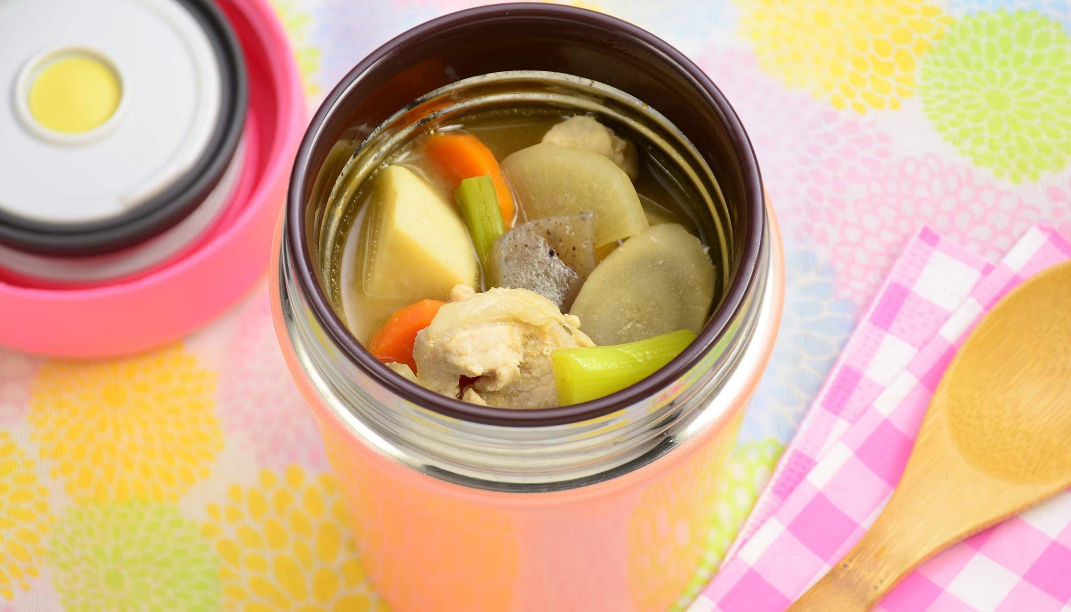 Total <i>Tonjiru</i> Soup