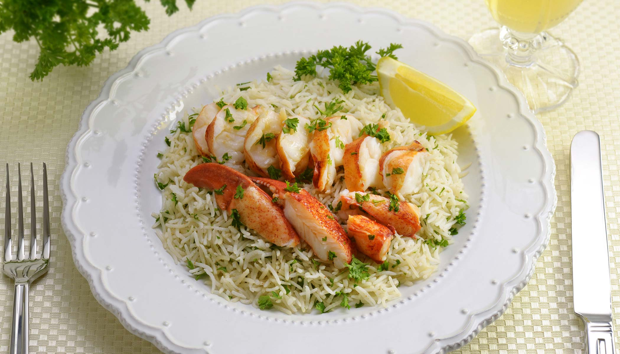 Buttered Lobster Rice