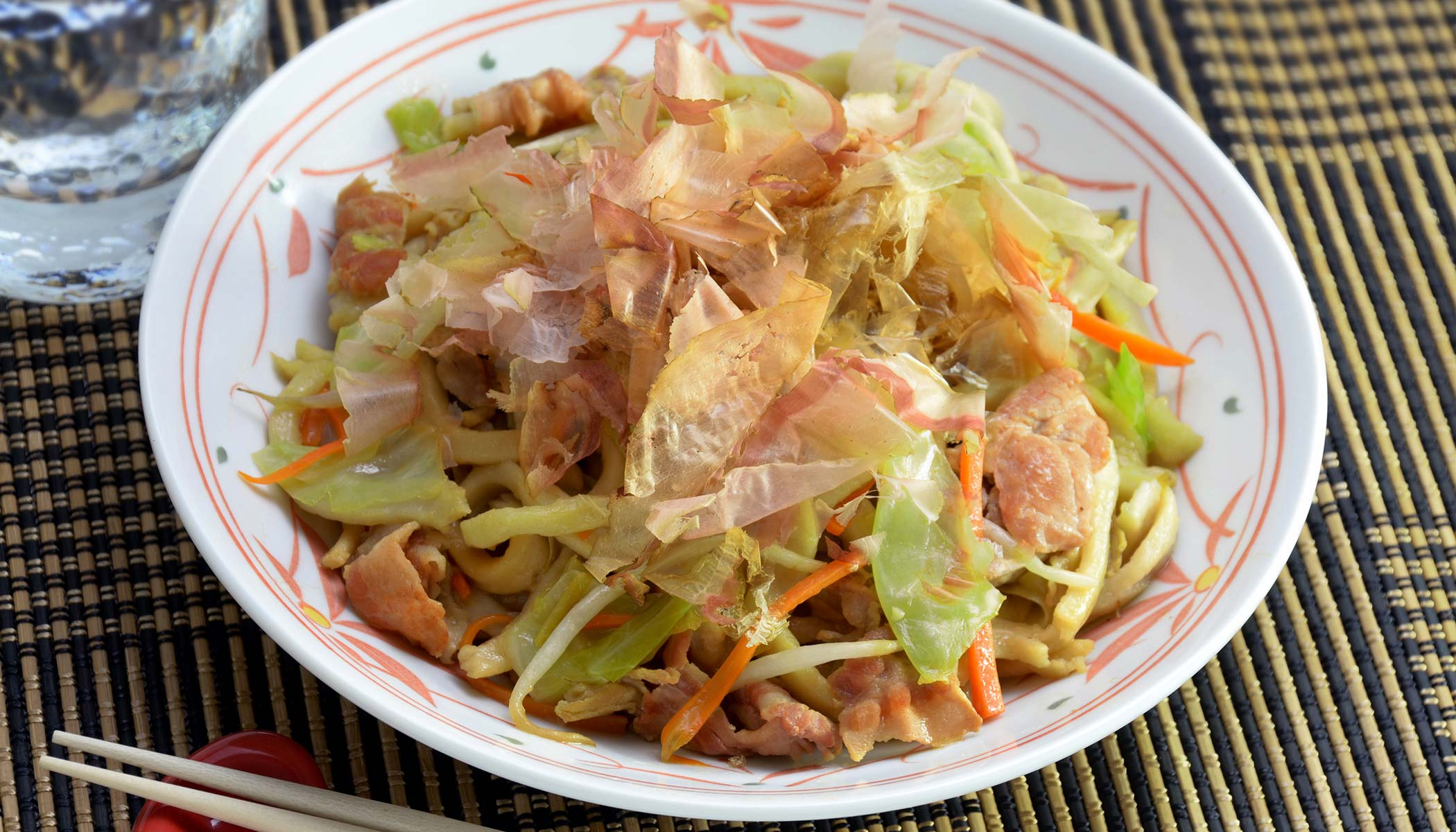 Stir-fried <i>Yaki Udon</i>