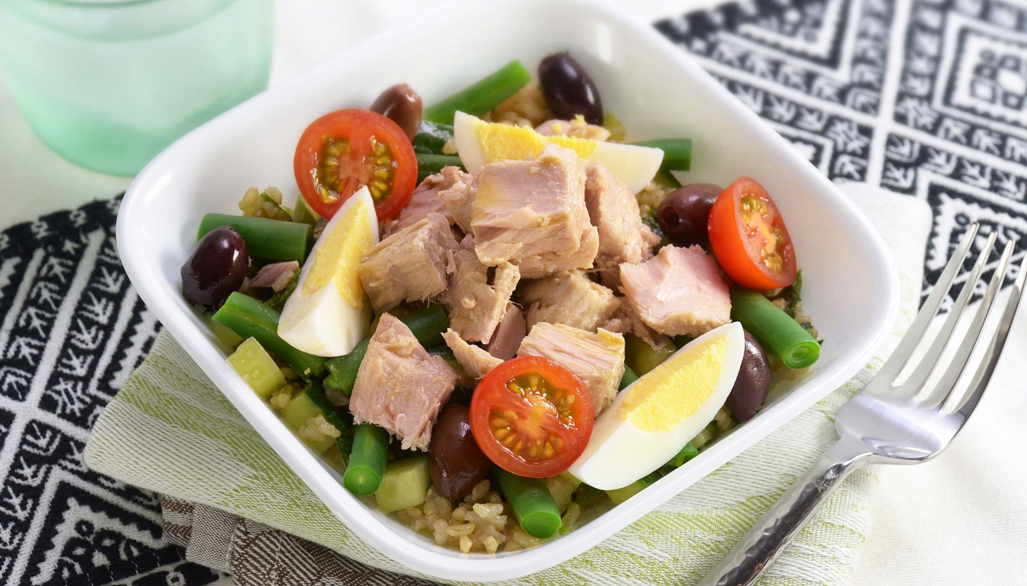 <i>Niçoise</i> Brown Rice Salad
