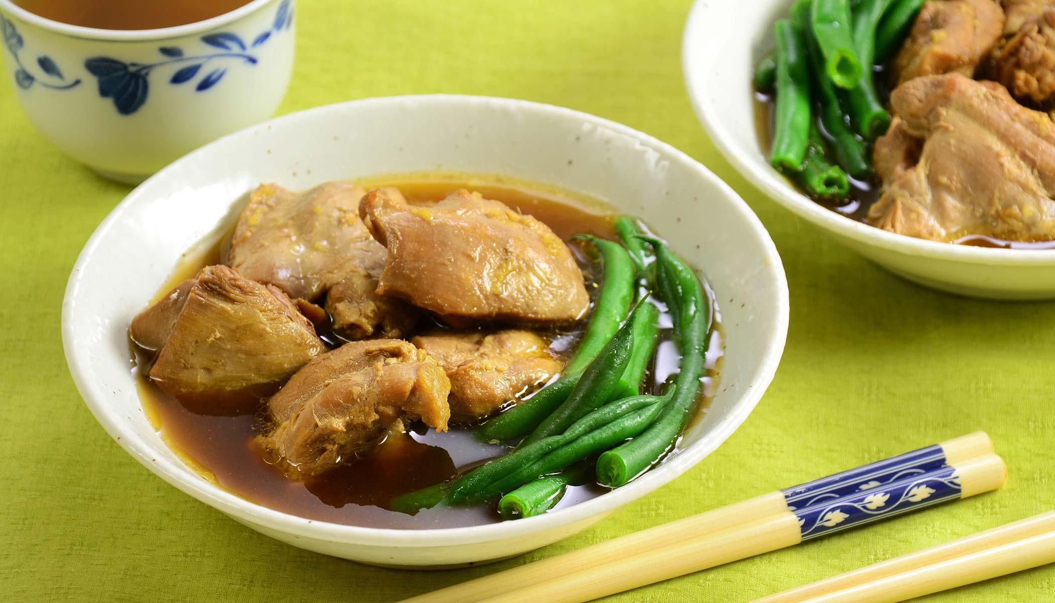 Green Tea Chicken Stew