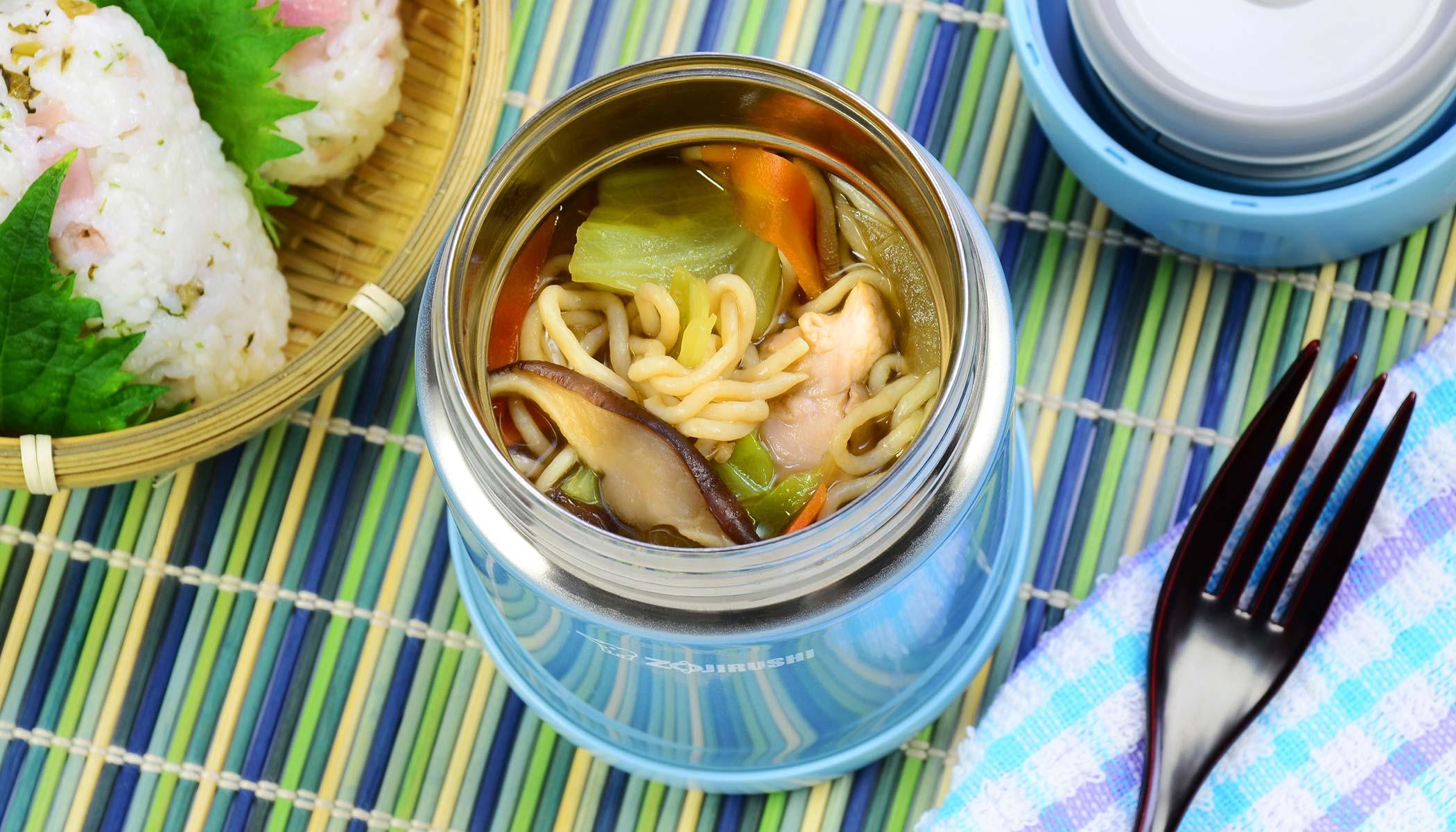 <i>Shiitake</i> Mushroom and Tofu Noodle Soup