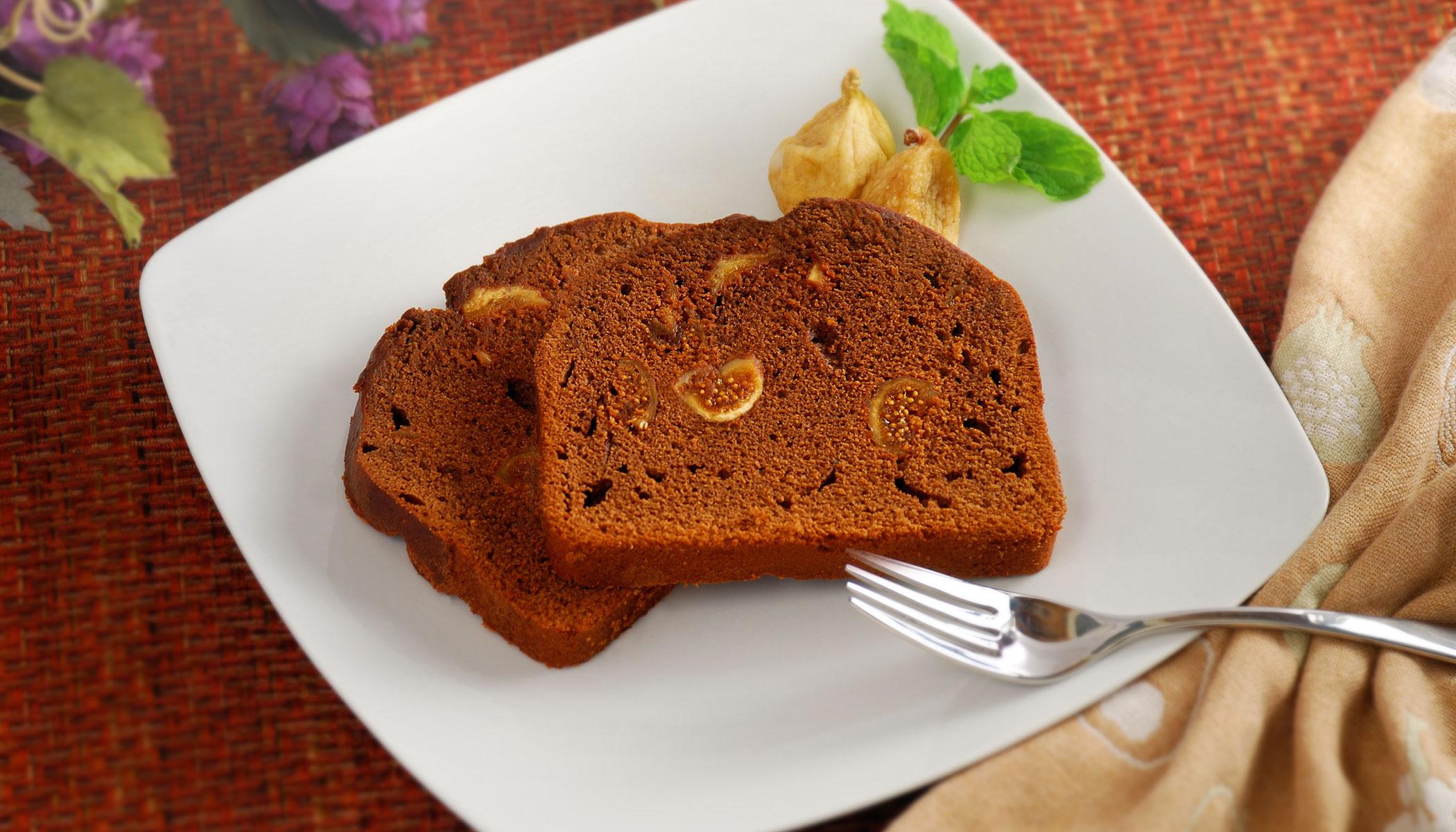 Chocolate & Fig Cake