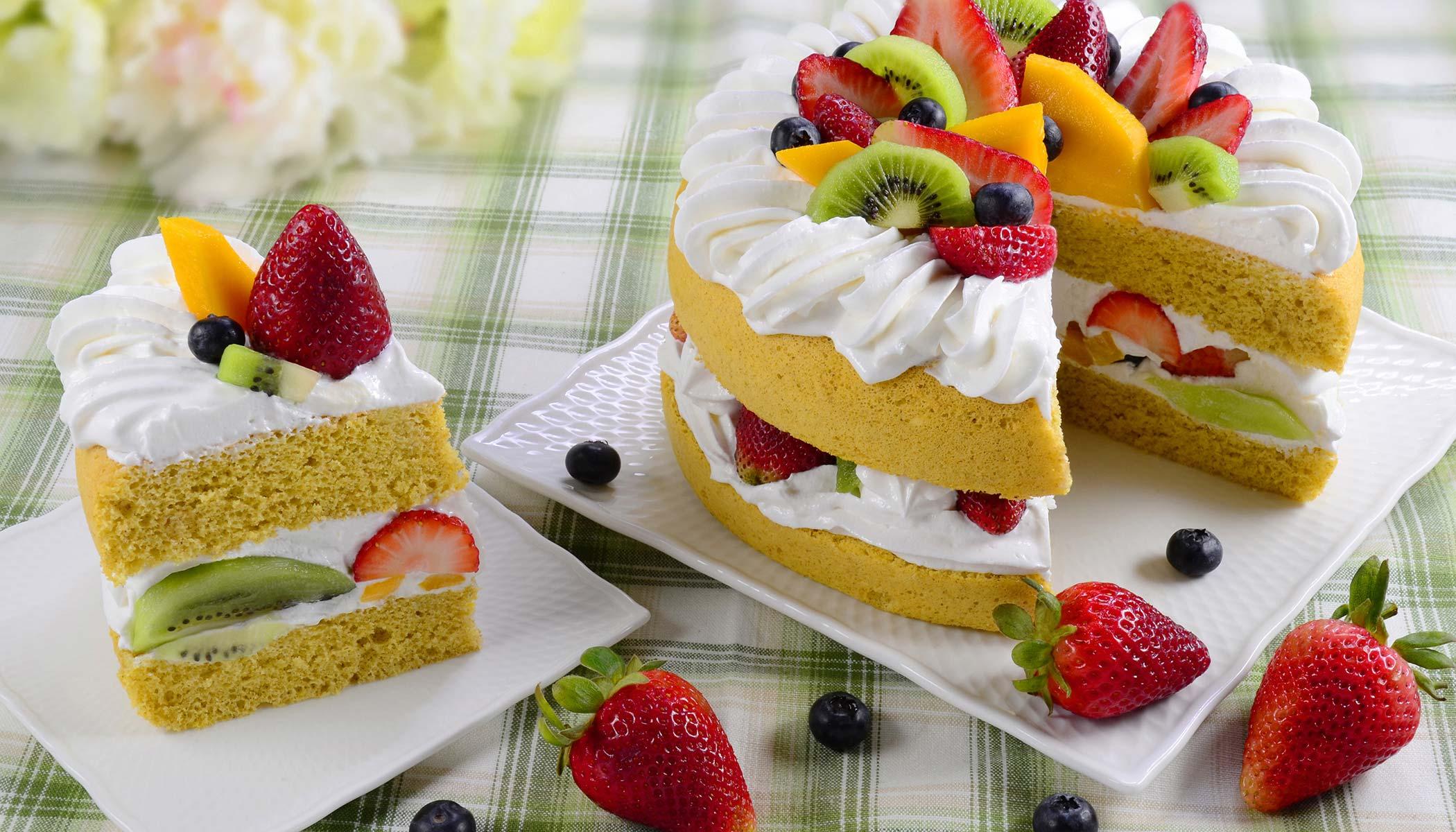 Whole Wheat Sponge Cake