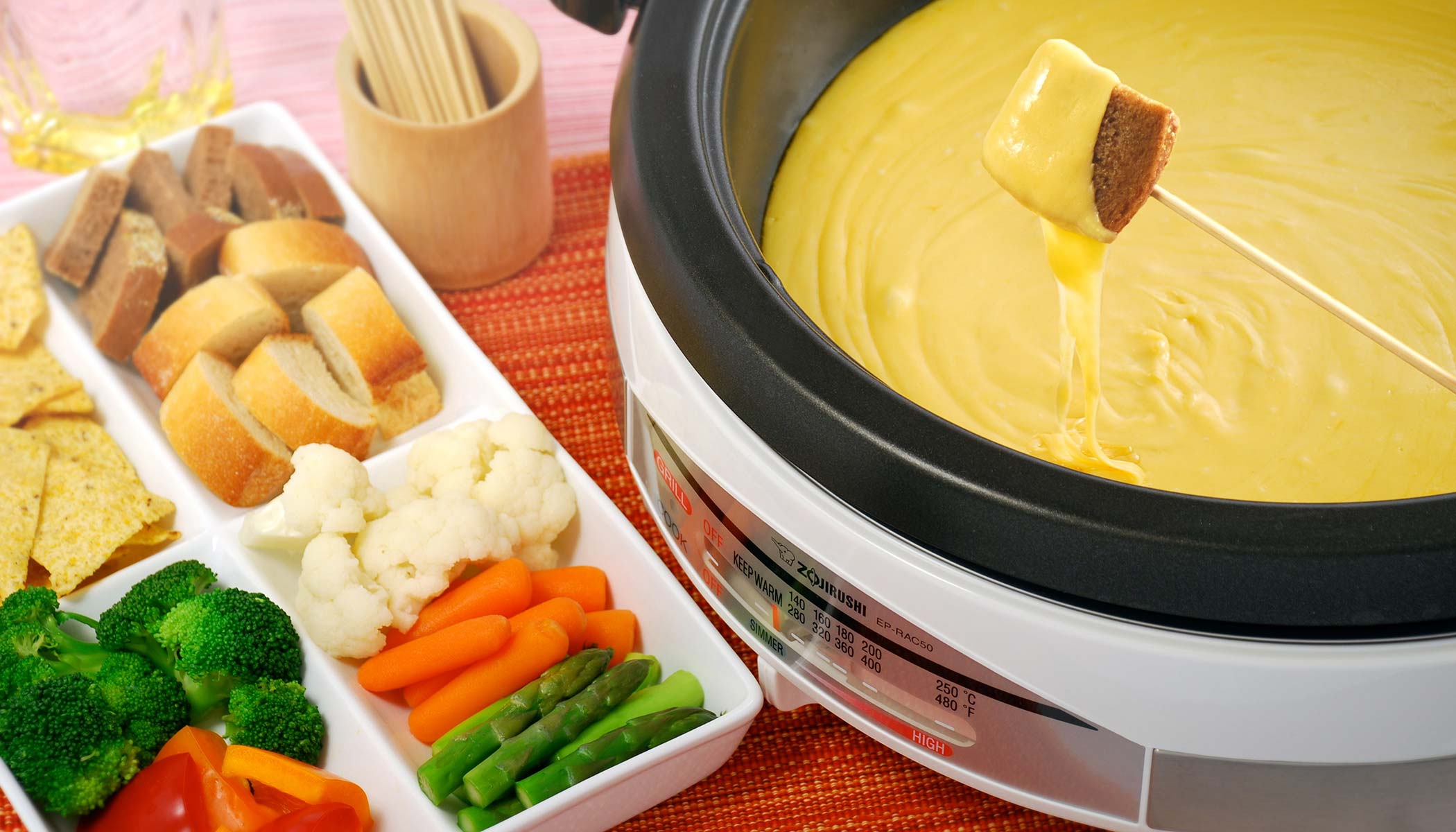 Self-Serve Cheese Fondue
