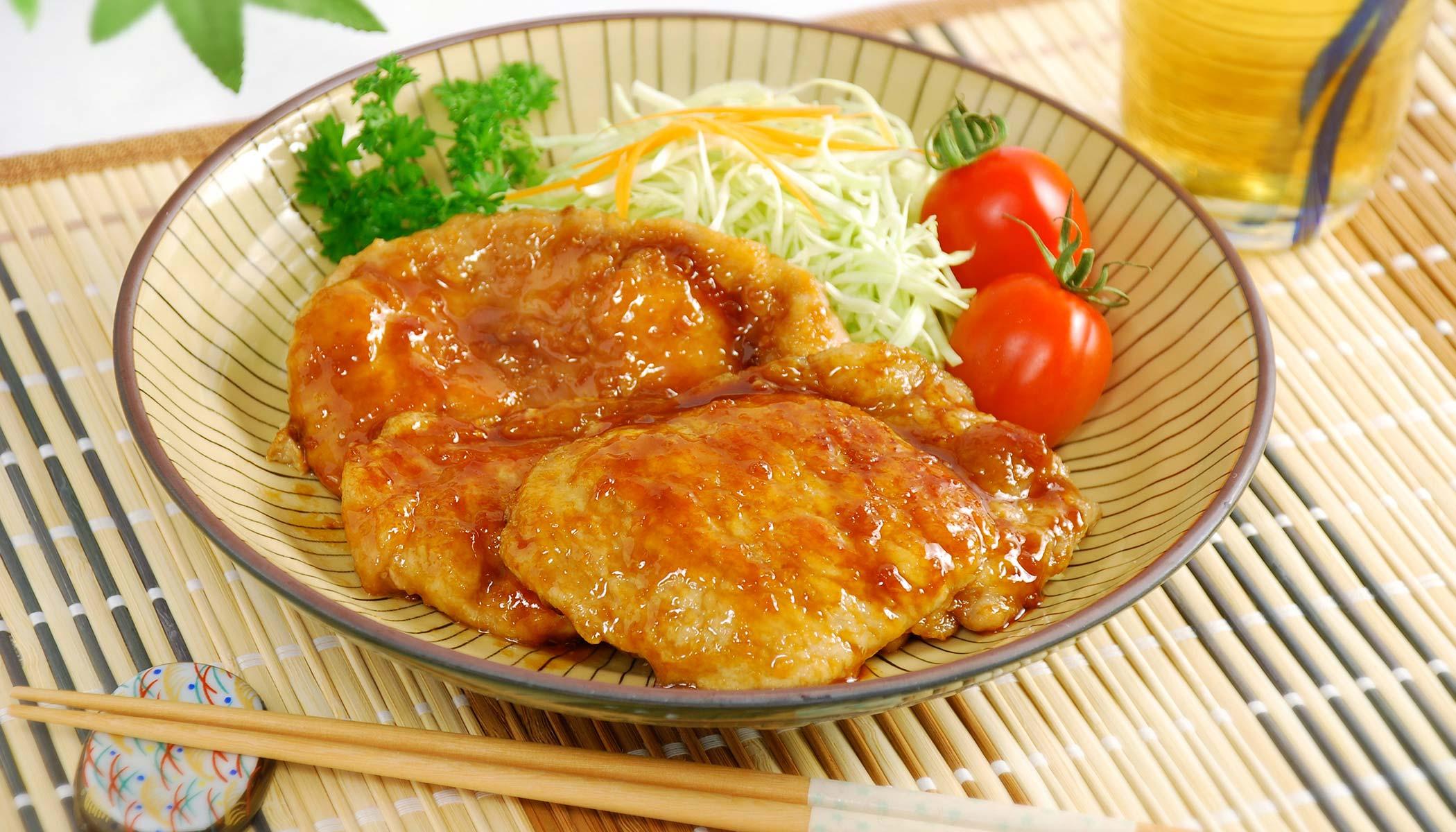 Ginger Pork (Japanese <i>Shoga-Yaki</i>)