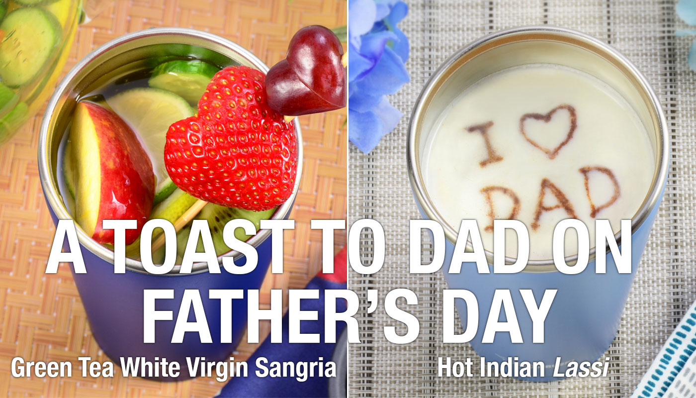 A TOAST TO DAD ON FATHER'S DAY