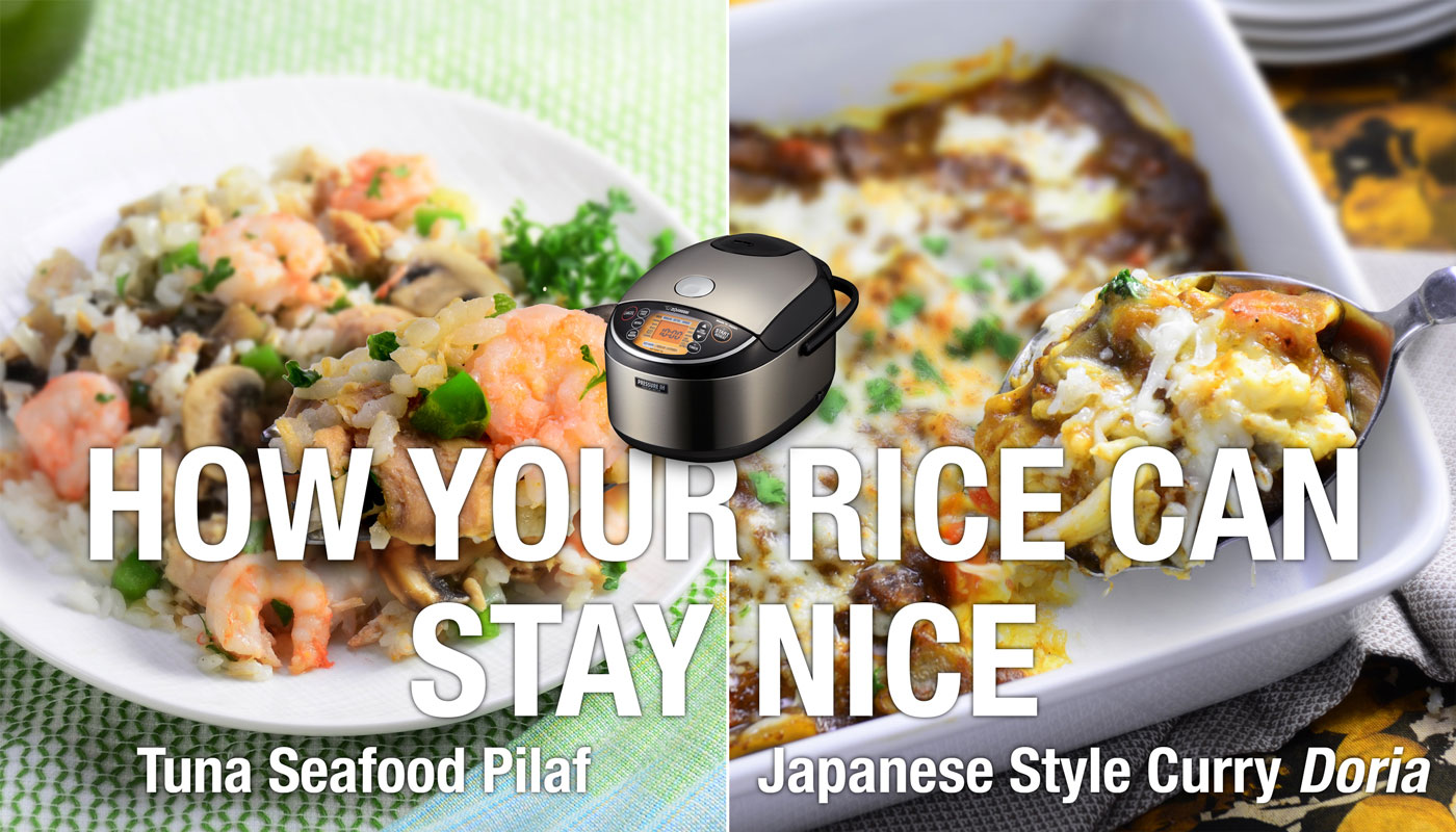HOW YOUR RICE CAN STAY NICE