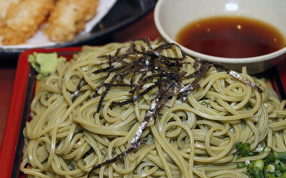 toshikoshi soba is the year end noodle dish eaten on
