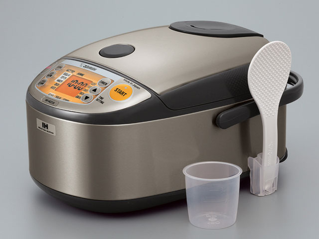 Zojirushi Micom + IH Rice Cooker & Warmer NP-HCC10/18