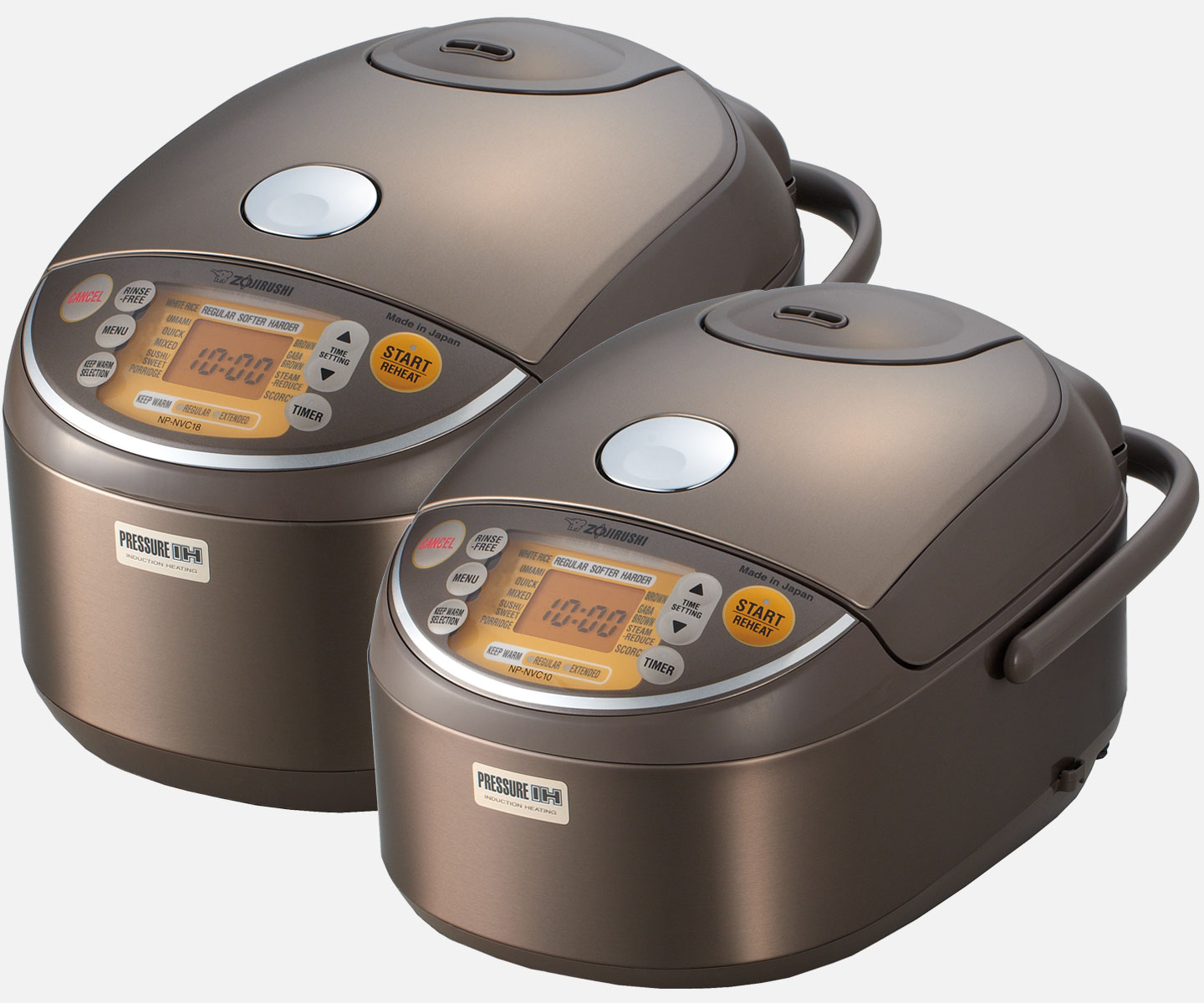 Induction Heating Pressure Rice Cooker & Warmer NP-NVC10/18 ...