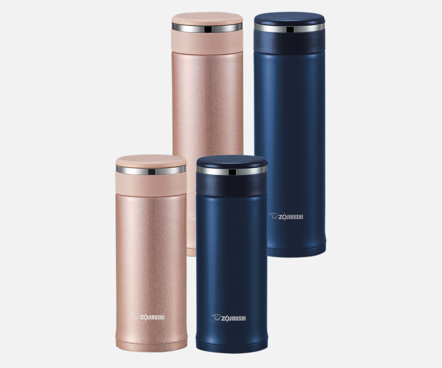 Stainless Mug With Tea Leaf Filter Sm Jte34 46 Zojirushi Com