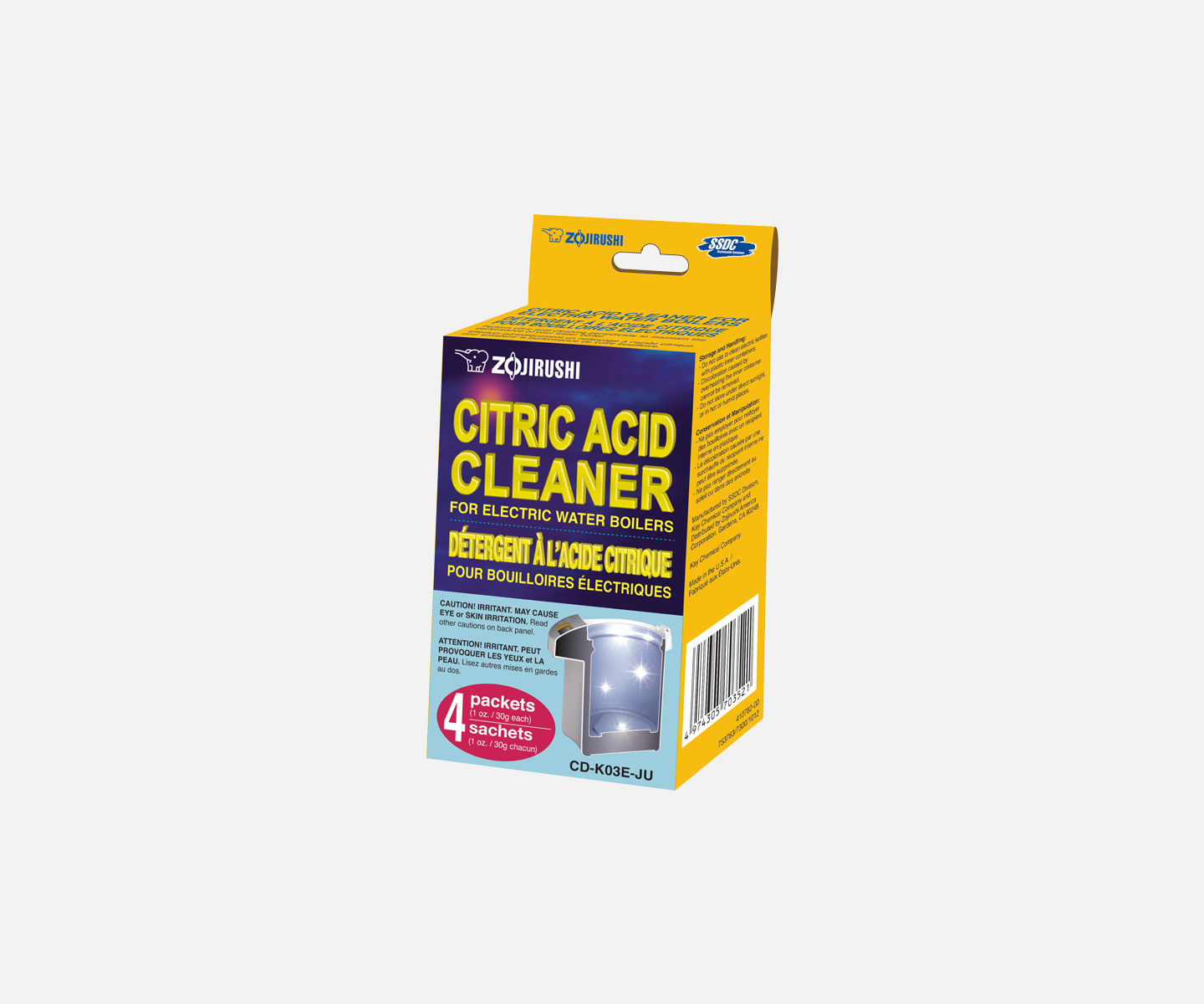 Citric Acid Cleaner For Electric Water Boilerscd K03eju