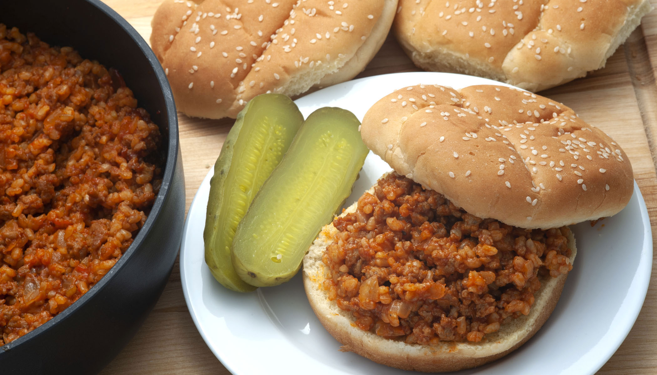 Brown Rice and Turkey  Sloppy Joes