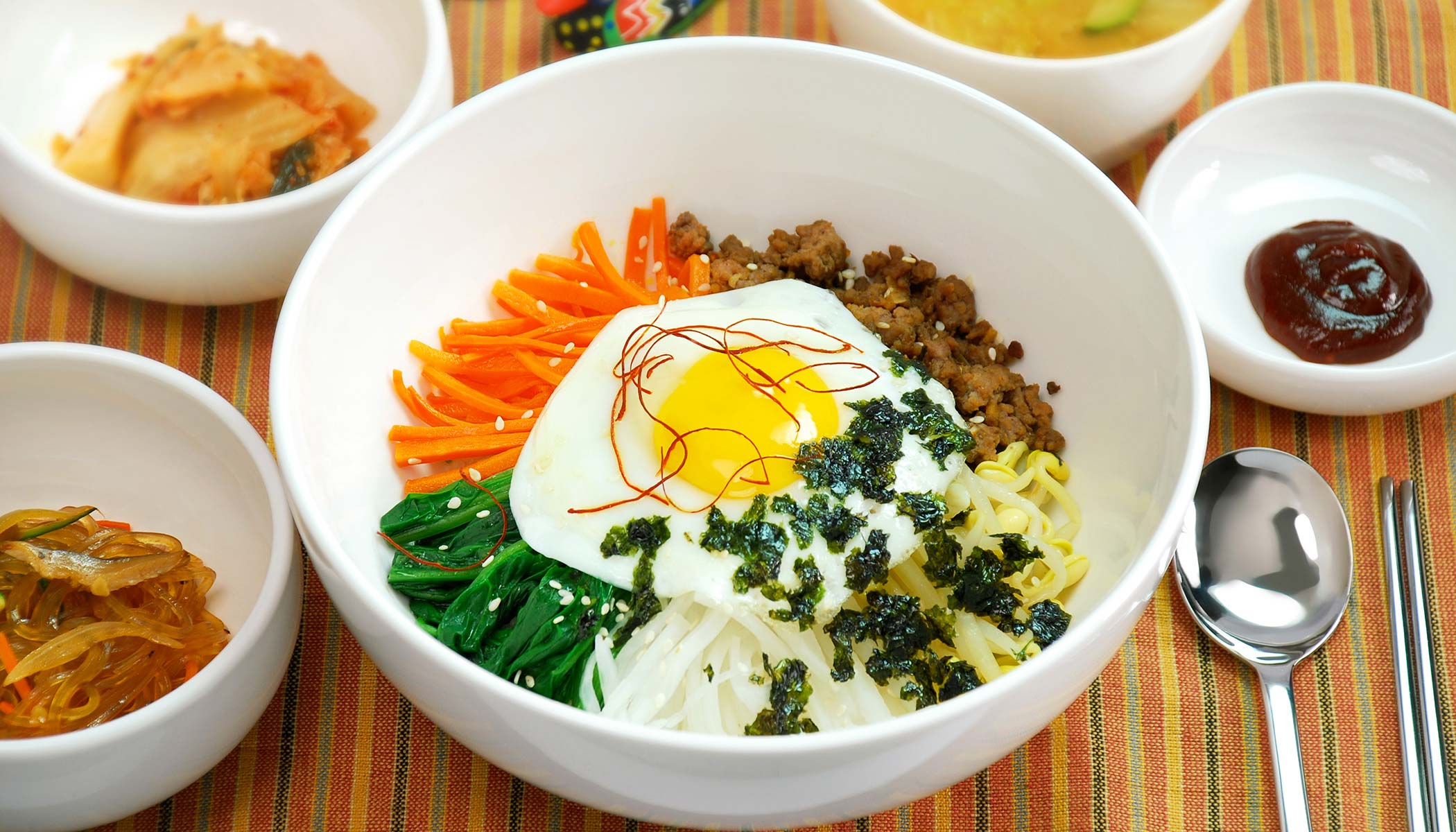 <i>Bibimbap</i> (Korean Rice Bowl)