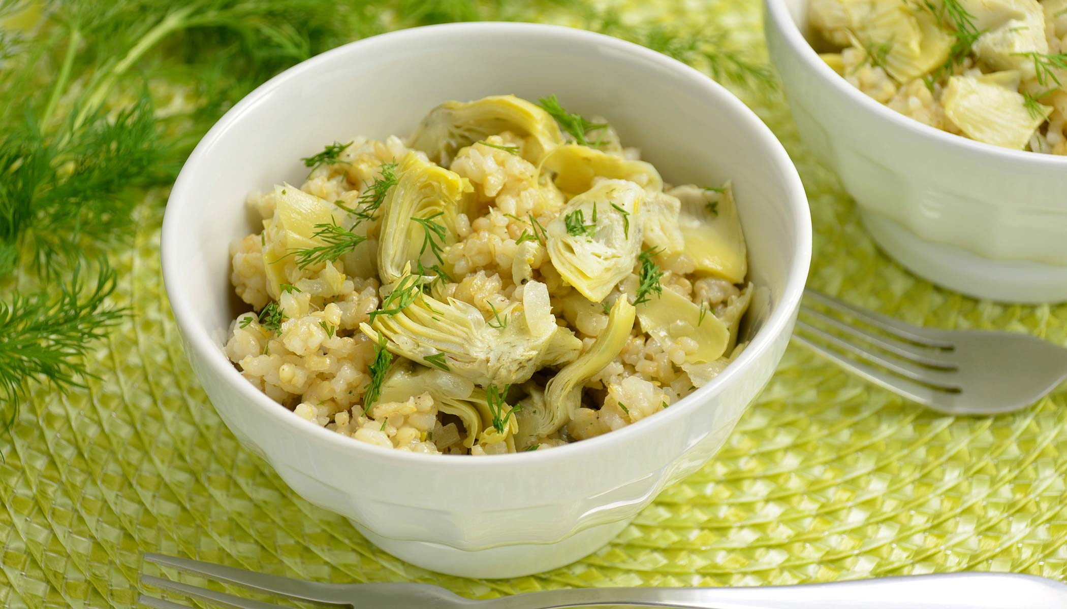 Artichoke Mixed Brown Rice