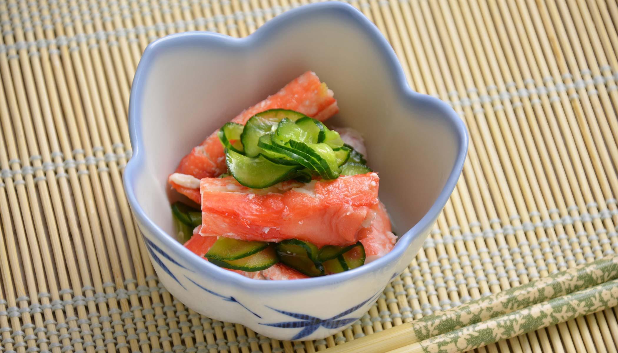 Crab & Cucumber <i>Sunomono</i> (Japanese Salad)