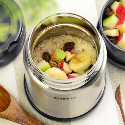 Vacuum insulated food jars recipes zojirushi steel cut oatmeal to go in your food jar forumfinder Gallery