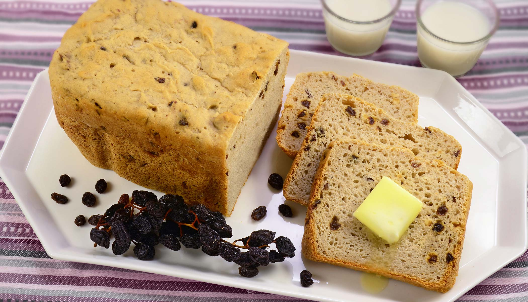 Gluten-Free Raisin Bread