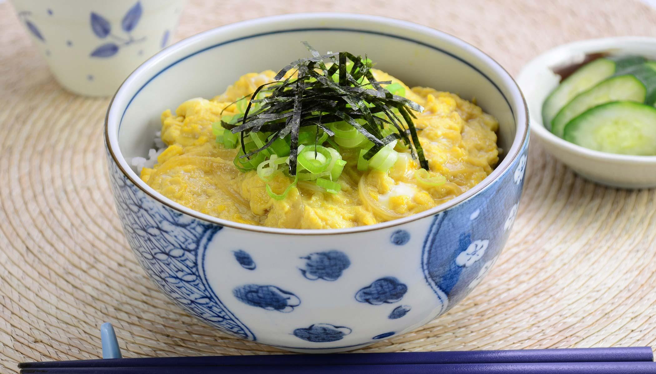 <i>Tamago-Donburi</i> (Egg Bowl)