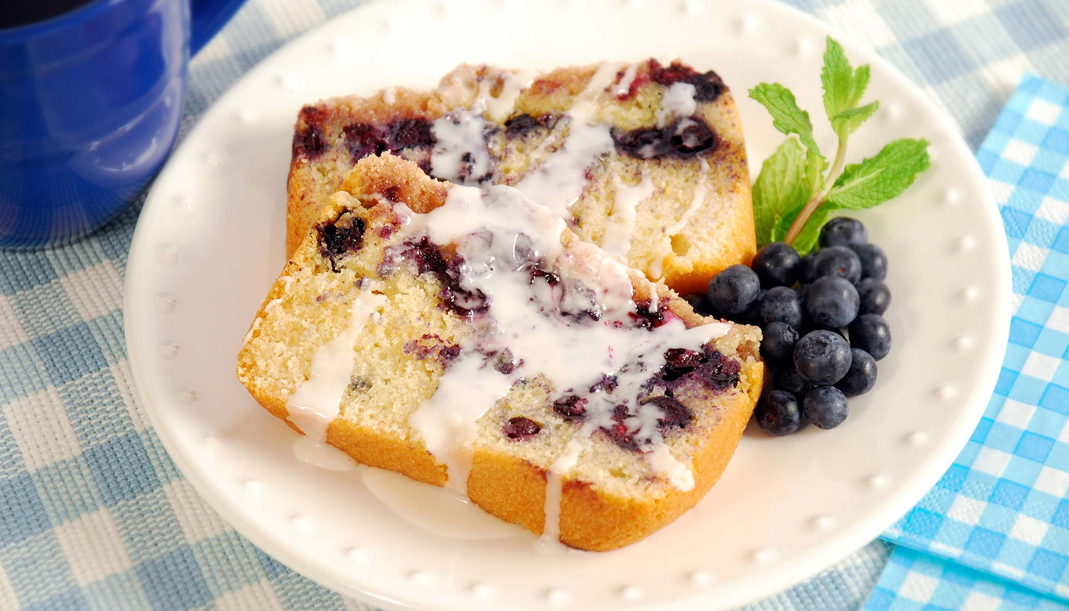 Luscious Blueberry Loaf