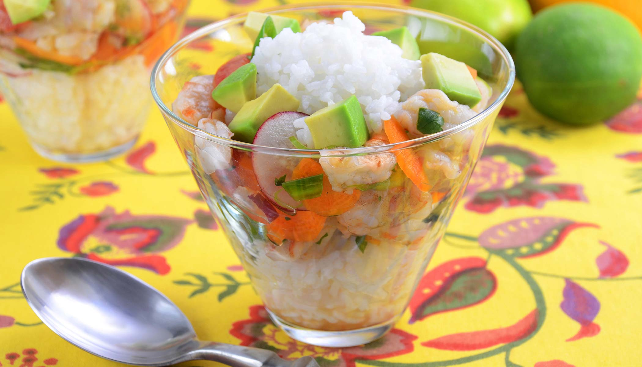Shrimp and Rice <i>Ceviche</i>