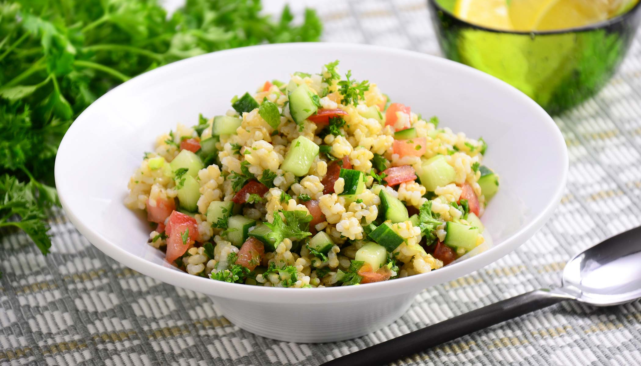 Brown Rice <i>Tabbouleh</i>
