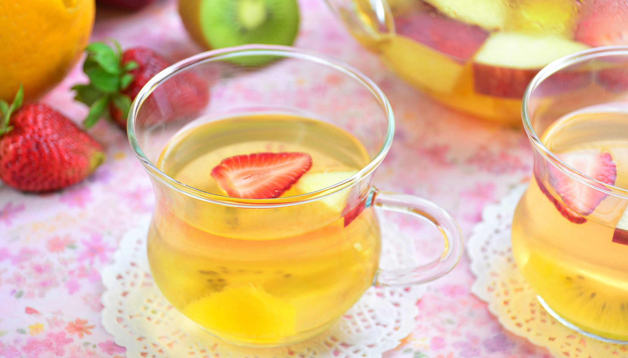 Fresh Fruit Tea
