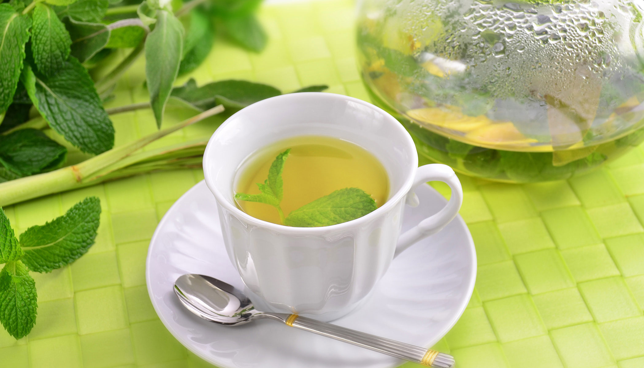 Fresh Herb Tea
