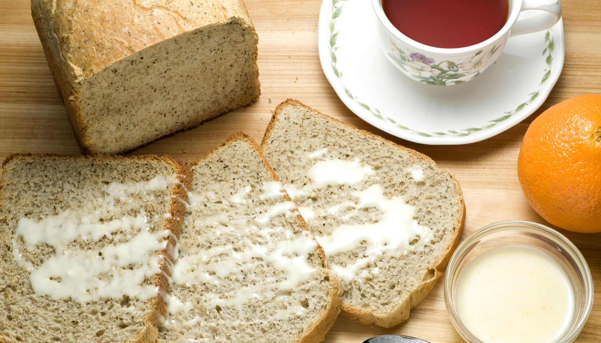 Orange Peel Tea Bread