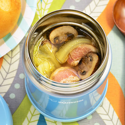 Vacuum insulated food jars recipes zojirushi mushroom nappa cabbage bacon soup forumfinder Image collections