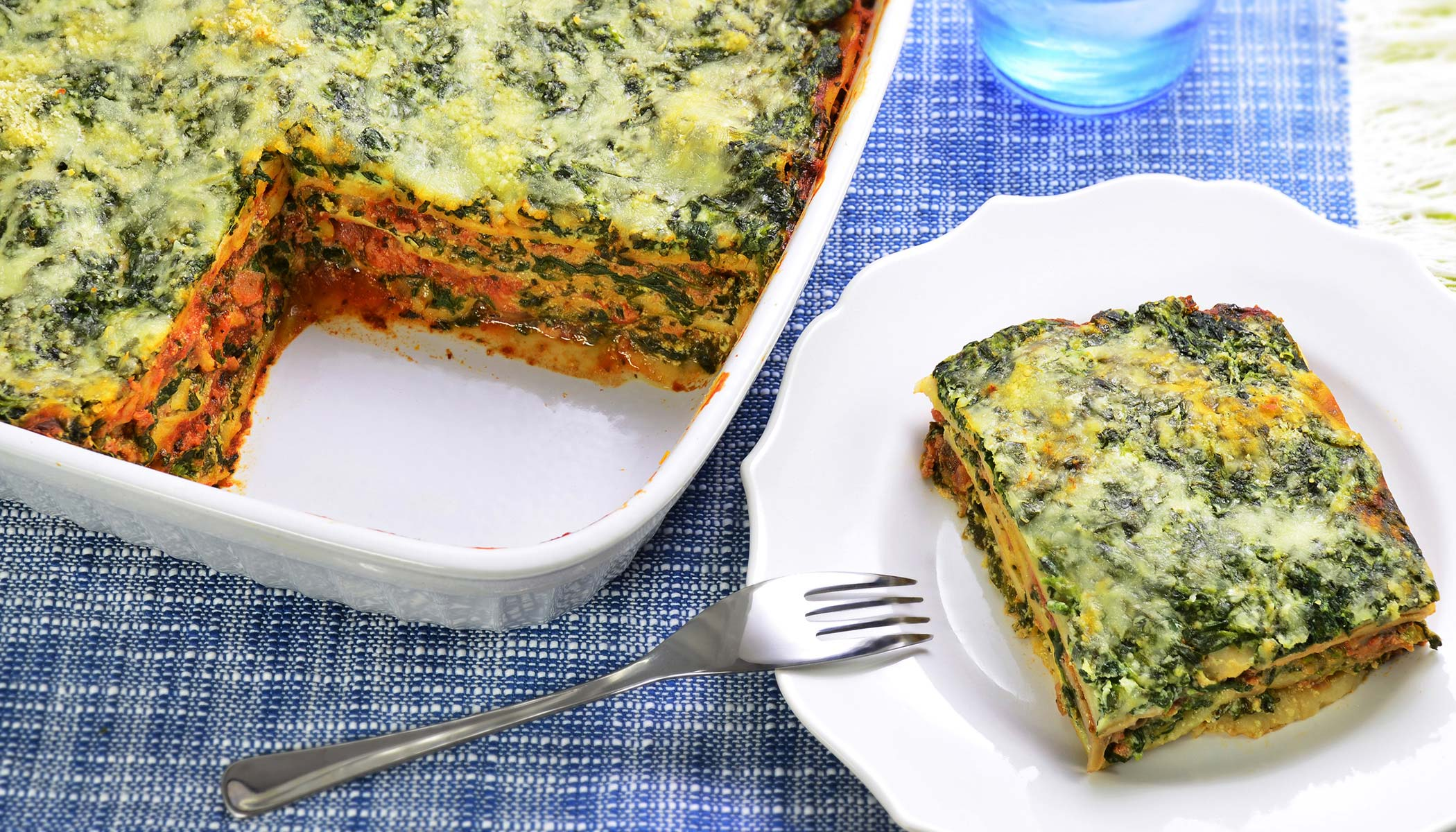Spinach and Turkey Lasagna