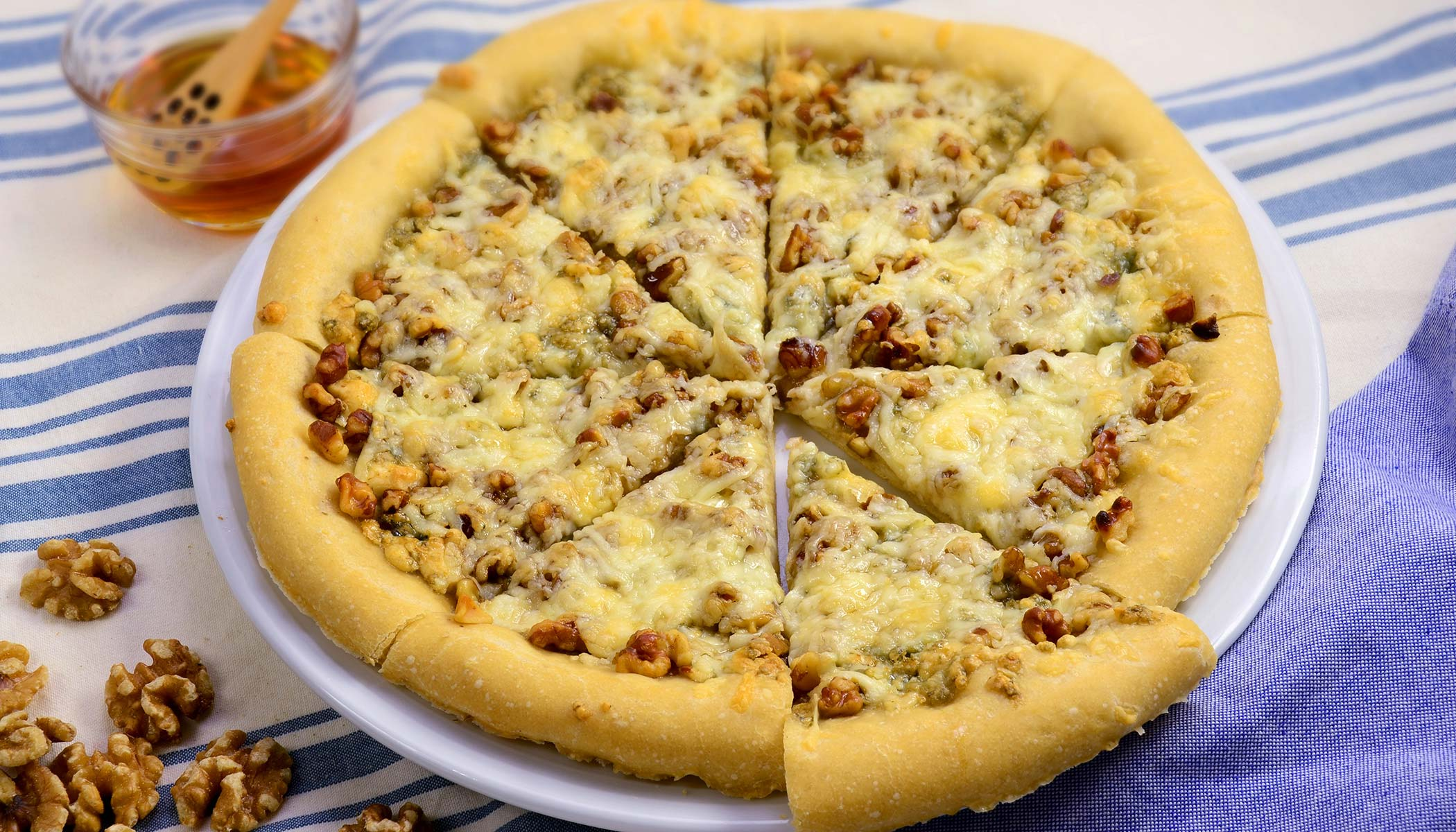 Pizza - Gorgonzola & Honey (Thick Crust)