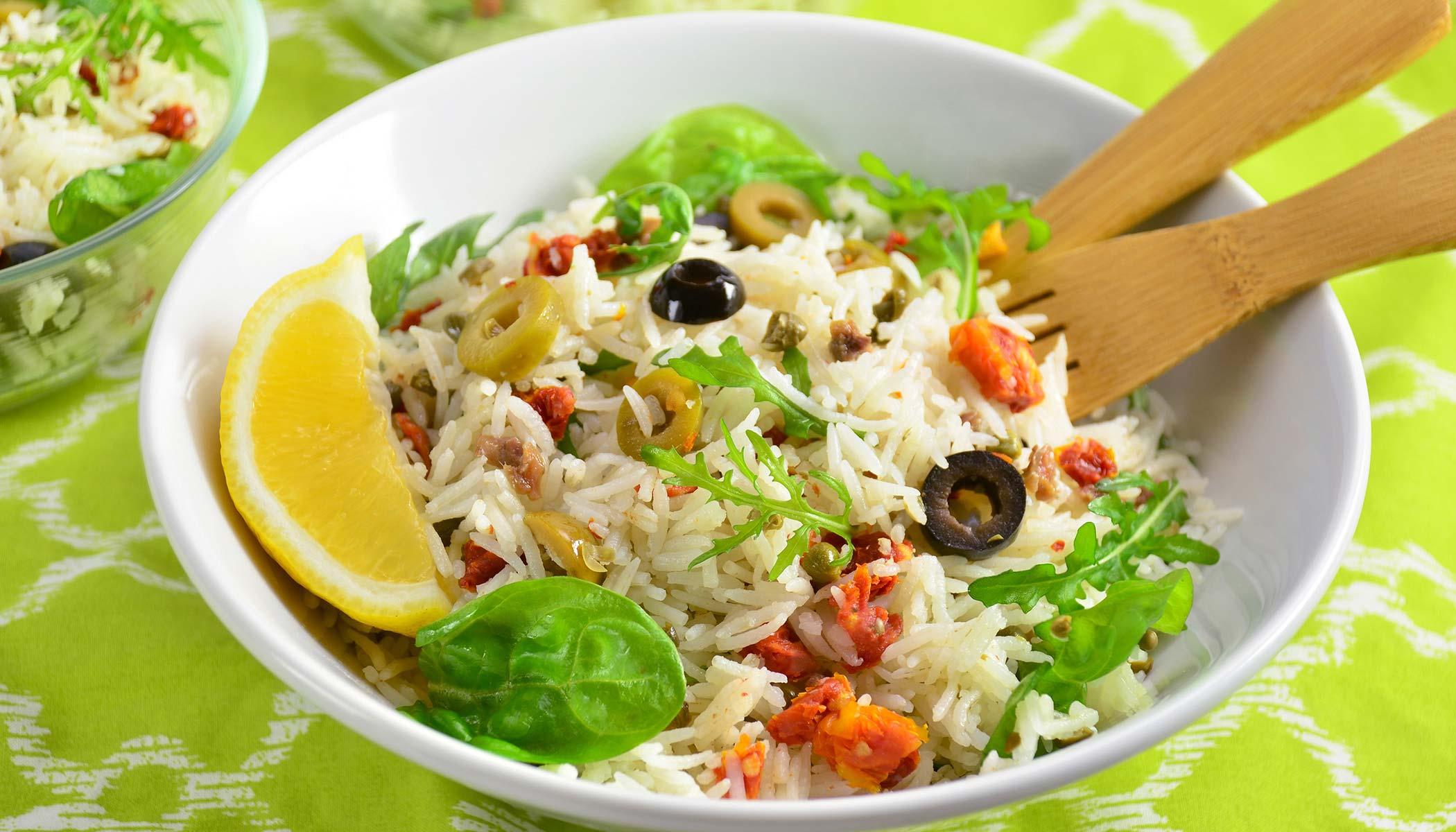 Puttanesca Rice Salad