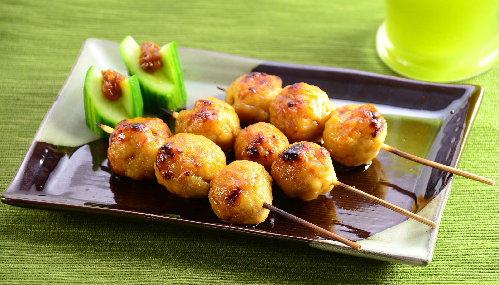 Ground Chicken Skewers (<i>Tsukune</i>)