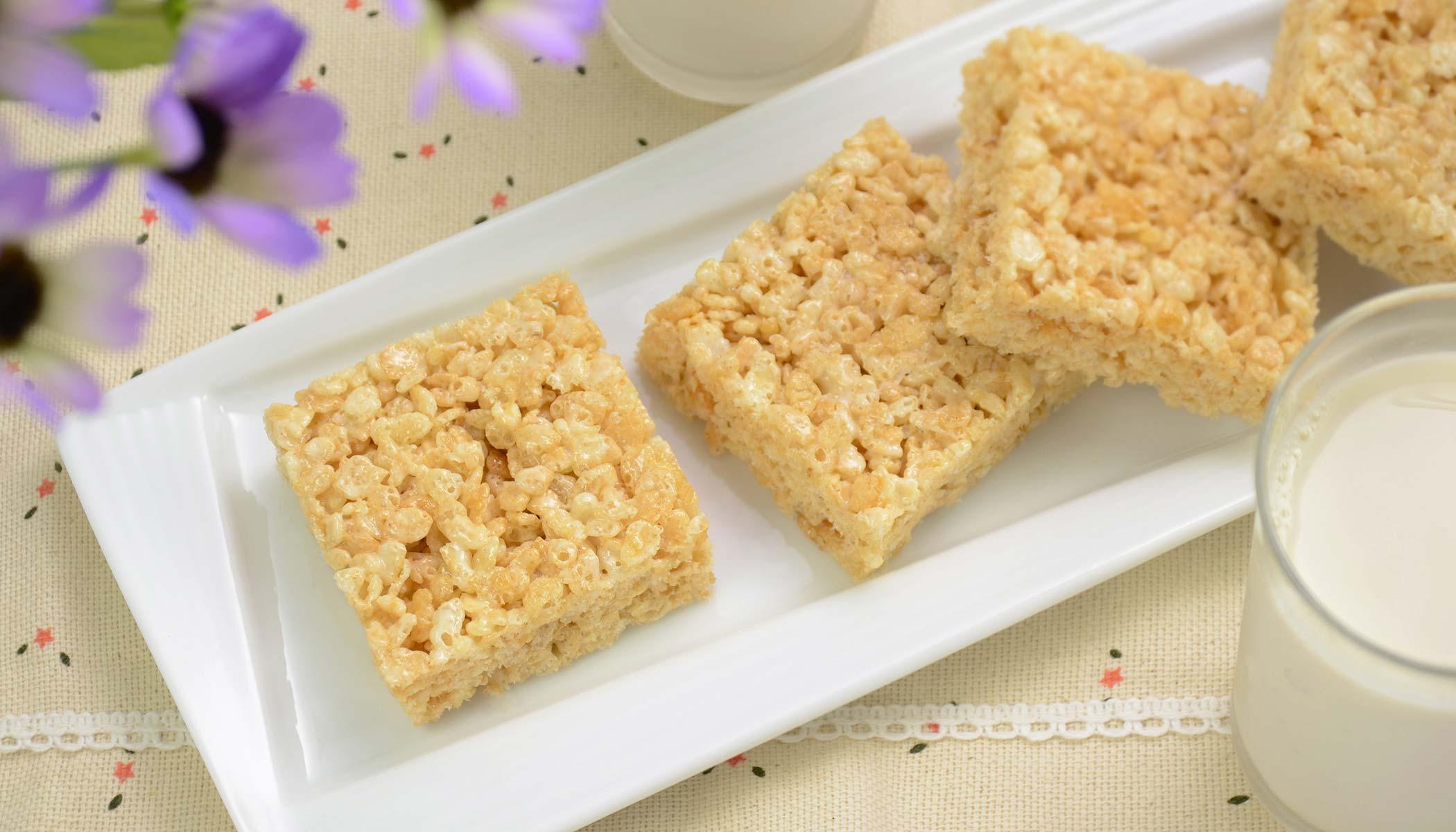 Crispy Rice Bricks