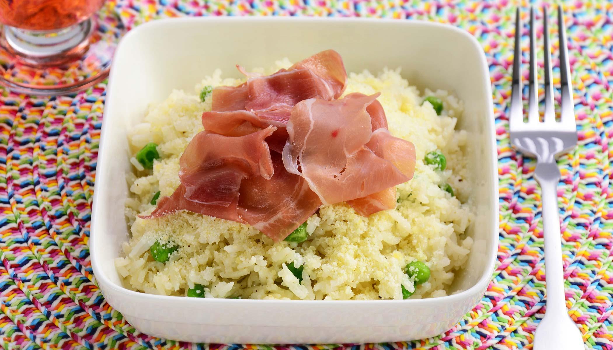 Fluffy Rice Alfredo