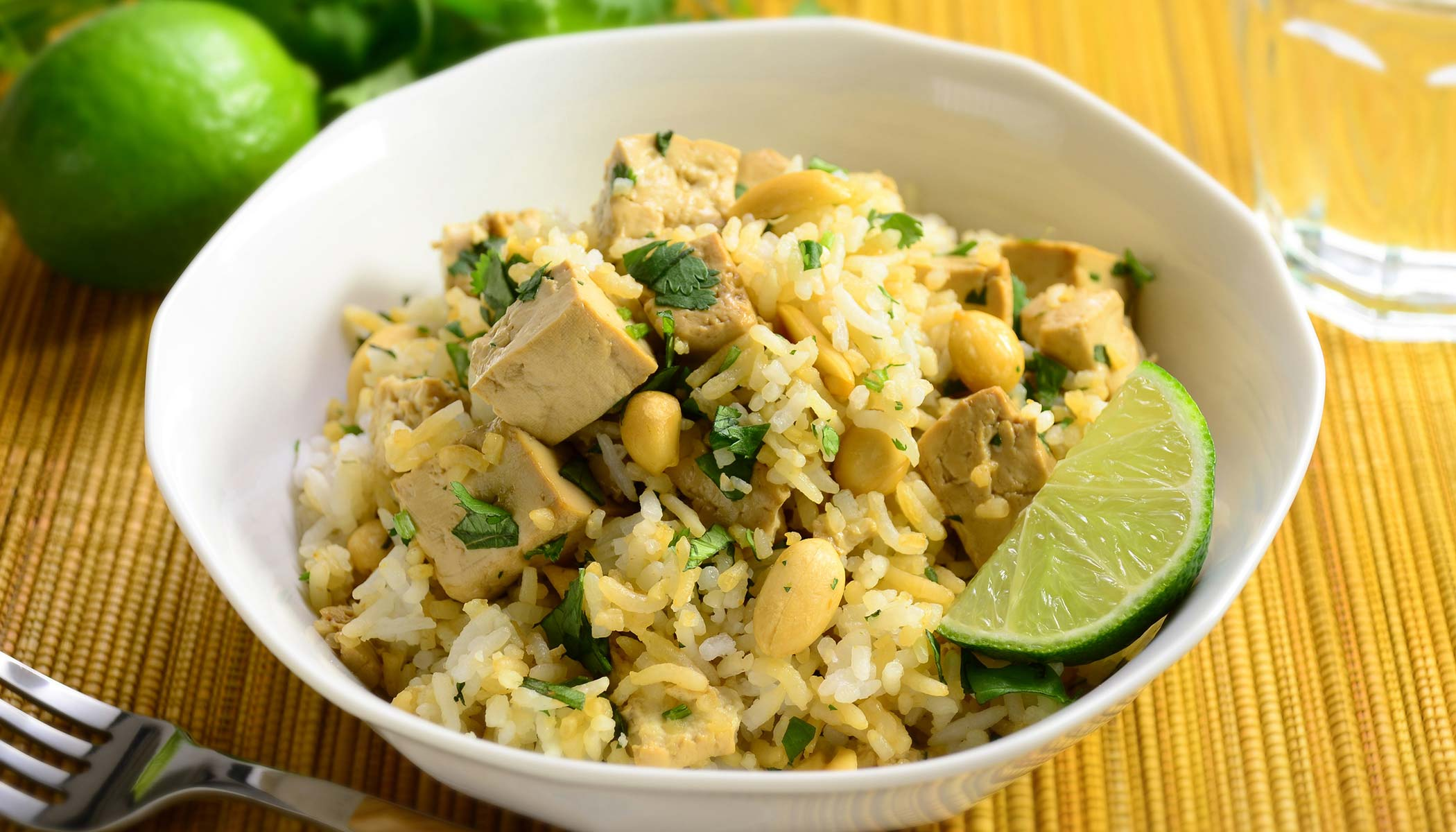 Tofu Jasmine Fragrant Rice