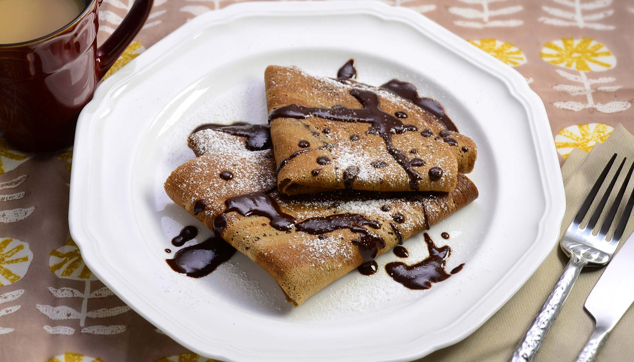 Chocolate-Chocolate Crepes