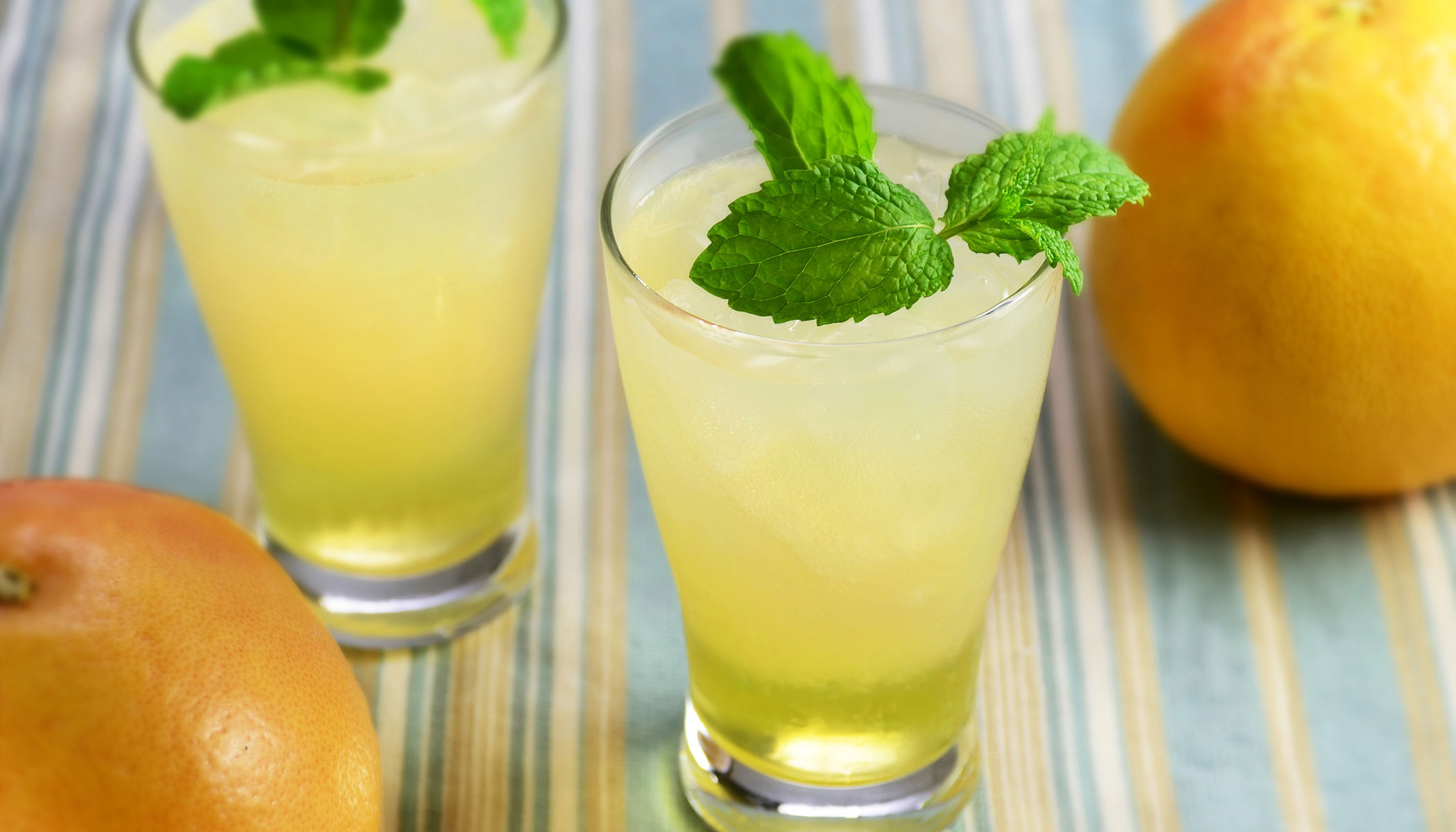 Iced Green Tea Mocktail
